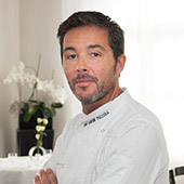 The chef Davide Palluda